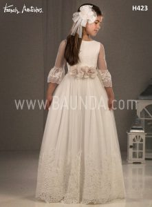 Communion dress 2018 Francis Montesinos model H423