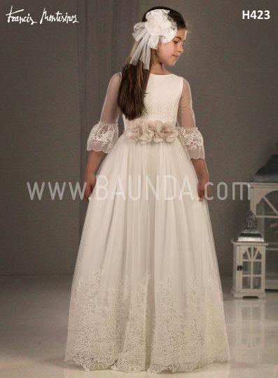 Communion dress 2018 Francis Montesinos model H423