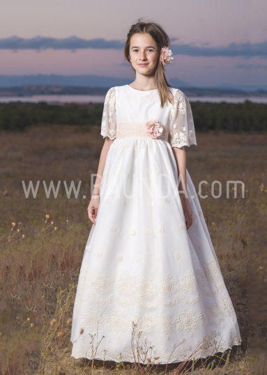 Vestido de comunión Loida 2018 modelo 101