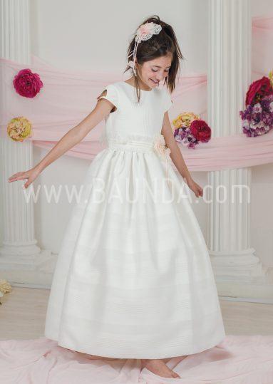 Vestido de comunión marfil Loida 2018 modelo 139