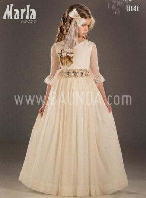 Vestido de comunión vintage 2018 Marla modelo H141