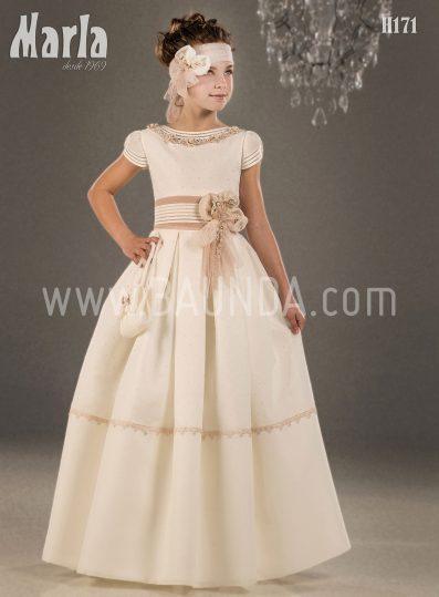 Vestido de comunión Madrid 2018 Marla modelo H171
