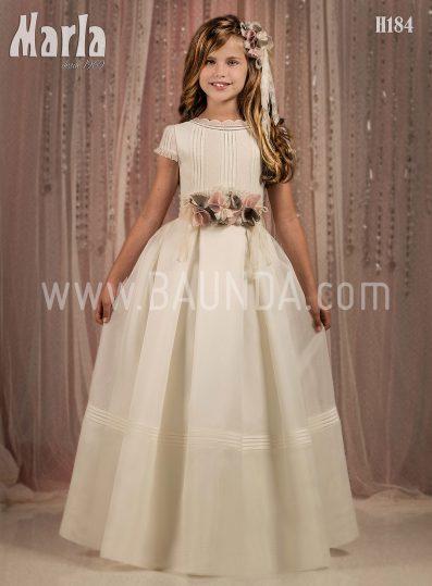 Vestido de comunión original Marla 2018 modelo H184