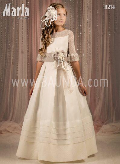 Vestido comunión elegante 2018 Marla modelo H214