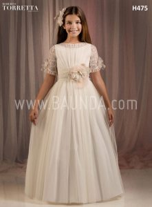 Communion dress Roberto Torretta 2018 model H475