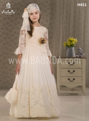 Bohemian communion dress El Caballo 2018 model H451