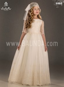 Communion dress boho chic El Caballo 2018 model H466