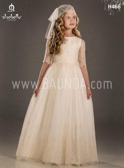 Communion dress boho chic El Caballo 2018 model H466