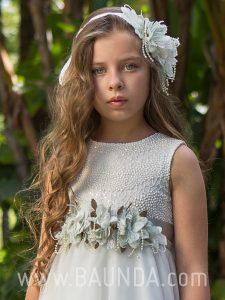 Vestido de comunión Magnífica Lulú 2018 modelo 309 detalle