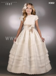 Best communion dress Hannibal Laguna 2018 model H302