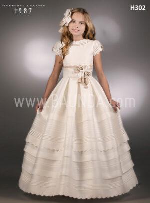Best communion dress Hannibal Laguna 2018 model H302