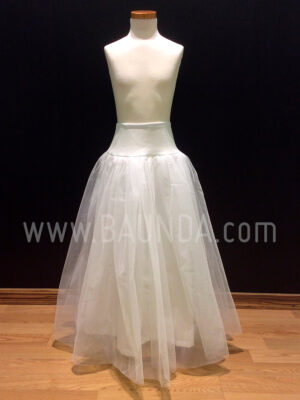 Communion tulle petticoat without hoops at Baunda Madrid