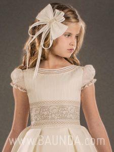 Fajines de comunión 2018 Valeria vestido Daphne