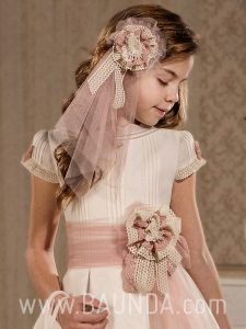 Fajines de comunión 2018 Lola Rosillo vestido Q119