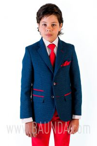 Communion suit red pants Varones 2018 Sport 1840 C