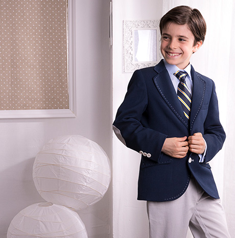 Communion suits 2018 at Baunda Madrid made in Spain