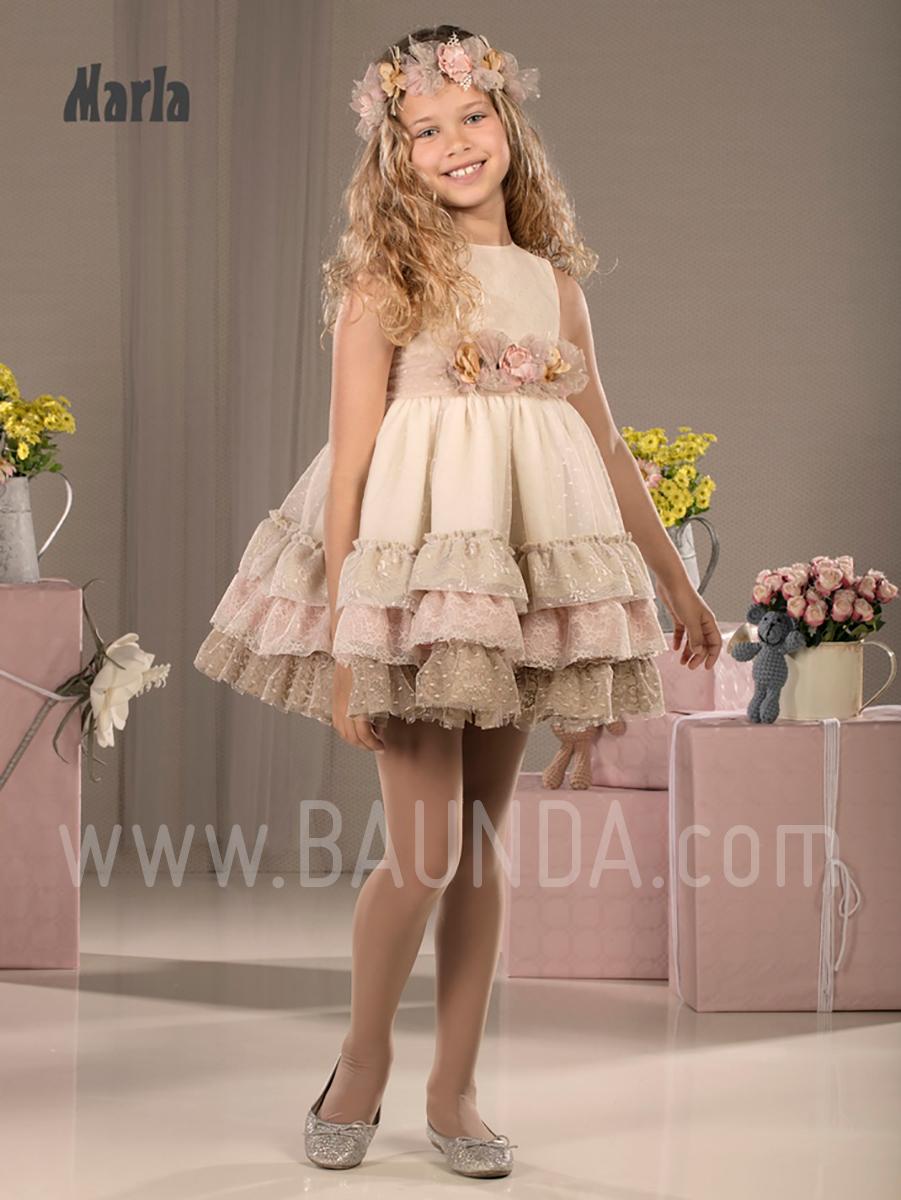 331802669 Baunda Vestido corto hermana comunión 2018 M004 en Madrid y tienda ...