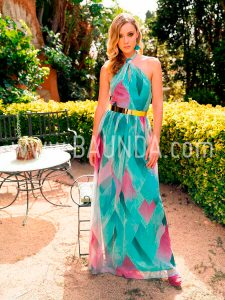 Vestido ligero para boda Baunda 2018 modelo 1852