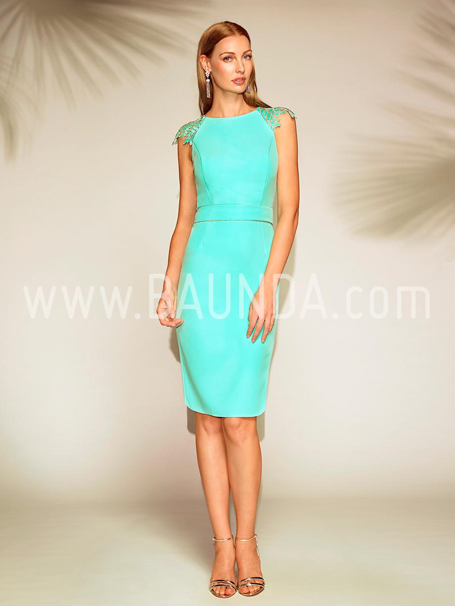 Vestidos cortos en tonos verdes
