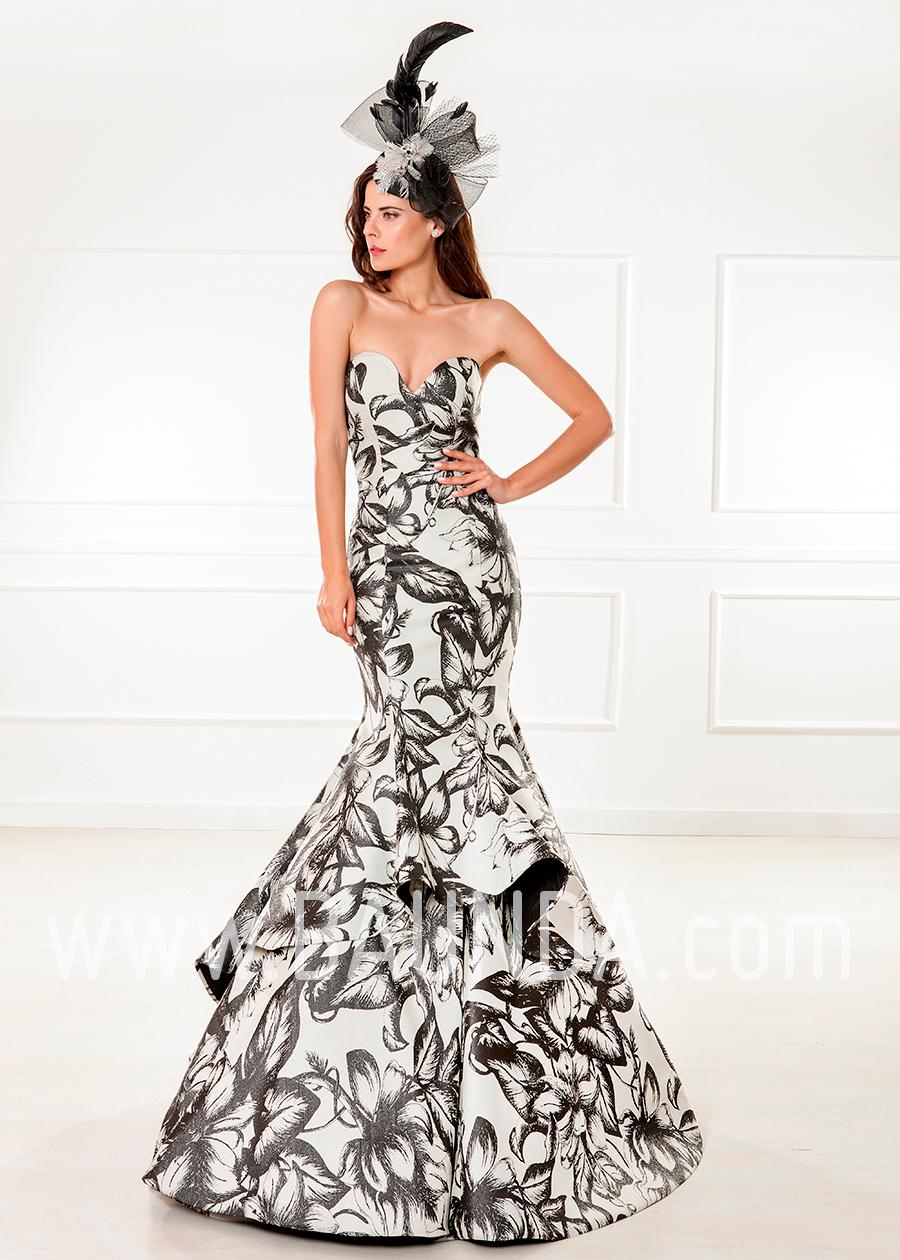 05cbf2a0e Baunda Evening dress 2018 XM 4807 printed in Baunda Madrid and ...