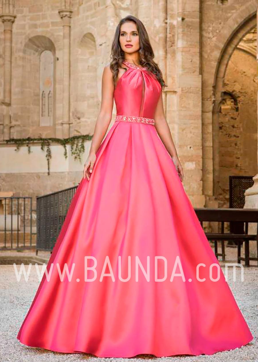 Baunda Vestido hermana novia 2018 XM 4859 rojo Baunda Madrid y ...