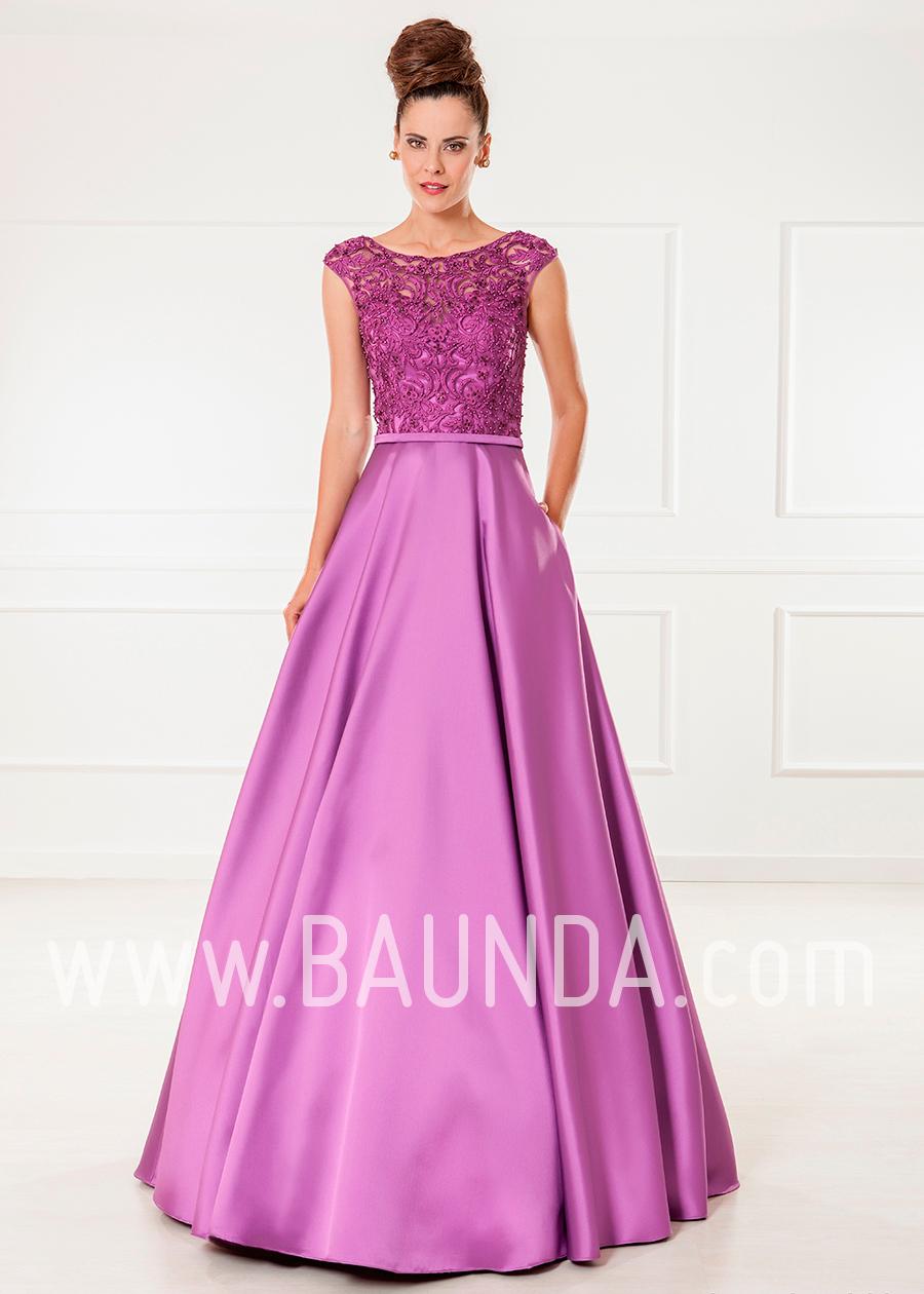 Baunda Vestido de fiesta largo morado 2018 XM 4860 en Madrid y ...