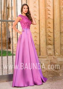 Evening dress purple 2018 XM 4860