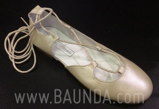 Zapatos de comunión con tiras comunión 2018 Baunda Z1817