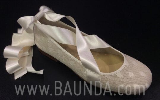 Zapatos de comunión plumeti comunión 2018 Baunda Z1818