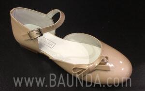 Zapatos de comunión charol comunión 2018 Baunda Z1819