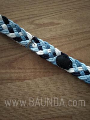 Cinturón de comunión 2018 modelo 001 en color azul marino celeste y blanco