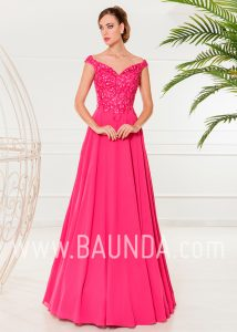 Evening dress fuchsia 2018 XM 4861