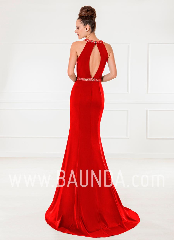 c8d2f432f Vestidos largos de fiesta en rojo - Vestidos formales