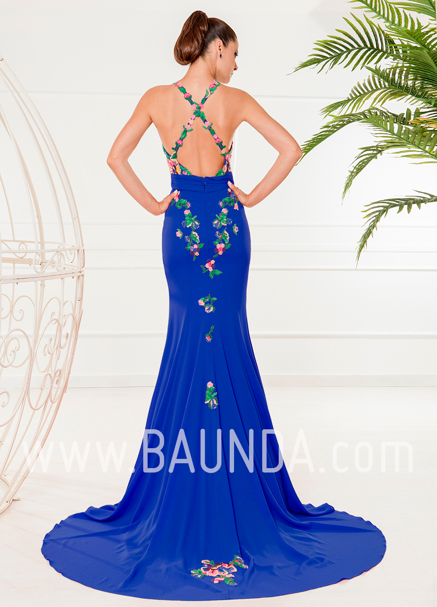 Vestido largo espalda al aire