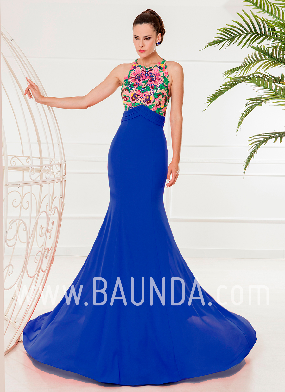 Baunda Vestidos Fiesta Vestidos Azules Vestidos Largos