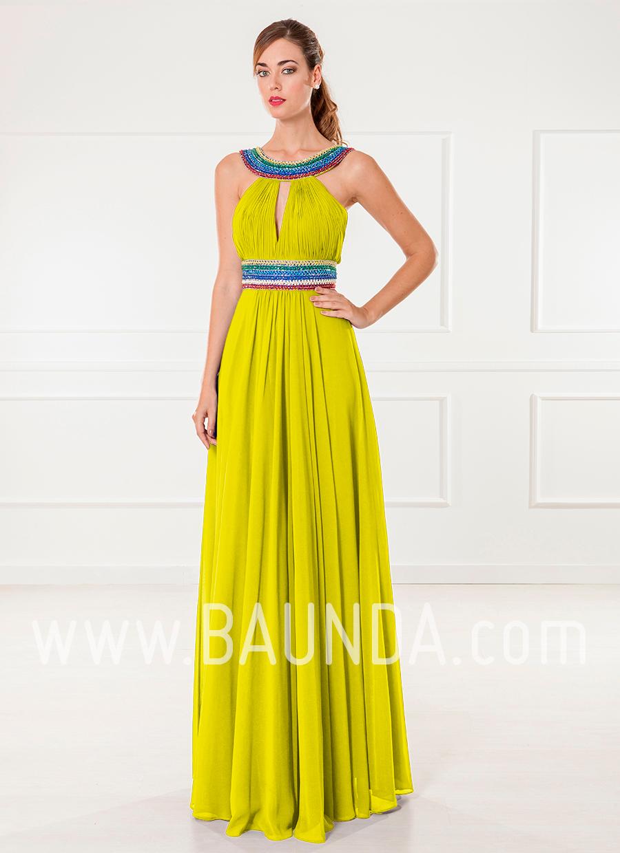 Vestidos para bodas en color amarillo