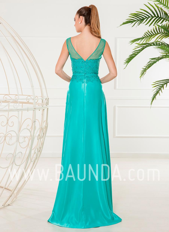 Vestidos de fiesta verde agua 2018