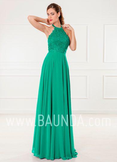 Vestido de invitada verde 2018 XM 4905
