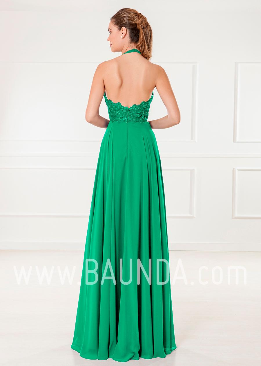 Baunda Vestido de invitada verde 2018 XM 4905 Baunda Madrid y tienda ...
