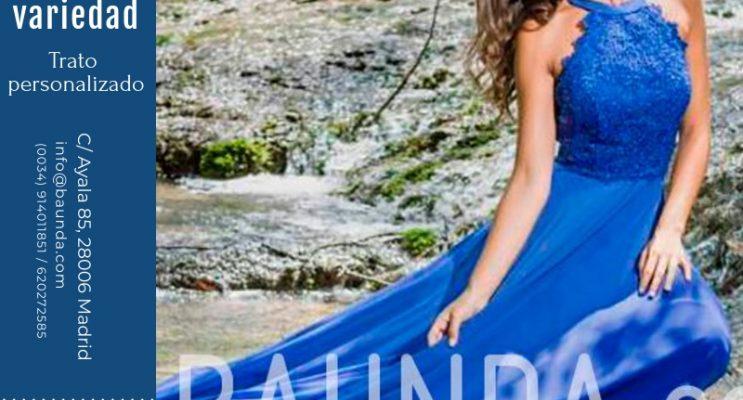 Fajines para vestidos de fiesta madrid