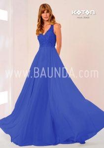 Vestido de boda azul Koton 2018 modelo 20405