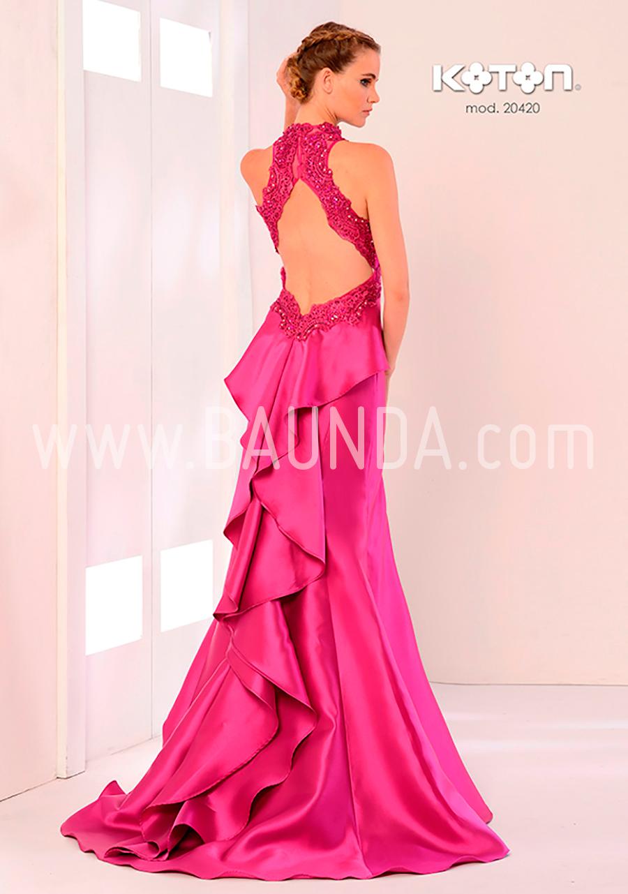 Baunda Vestido hermana fucsia Koton 2018 modelo 20420 Baunda Madrid ...