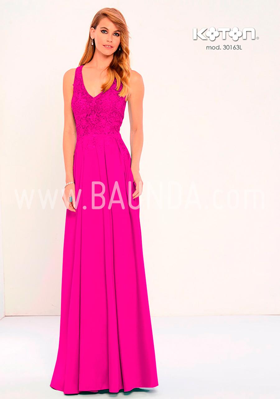 Baunda Vestido fiesta buganvilla Koton 2018 modelo 30163 en Madrid y ...