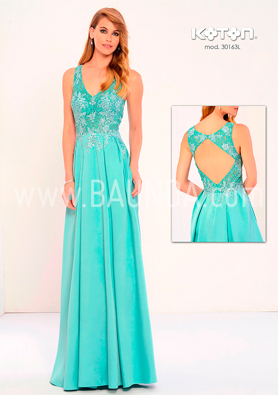 aec1d39d9 Baunda vestidos fiesta  verde agua  somos baunda  vestidos bodas ...