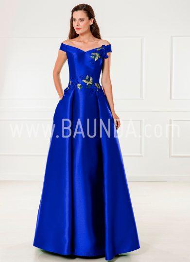 Vestido de madrina azulón 2018 XM 9836