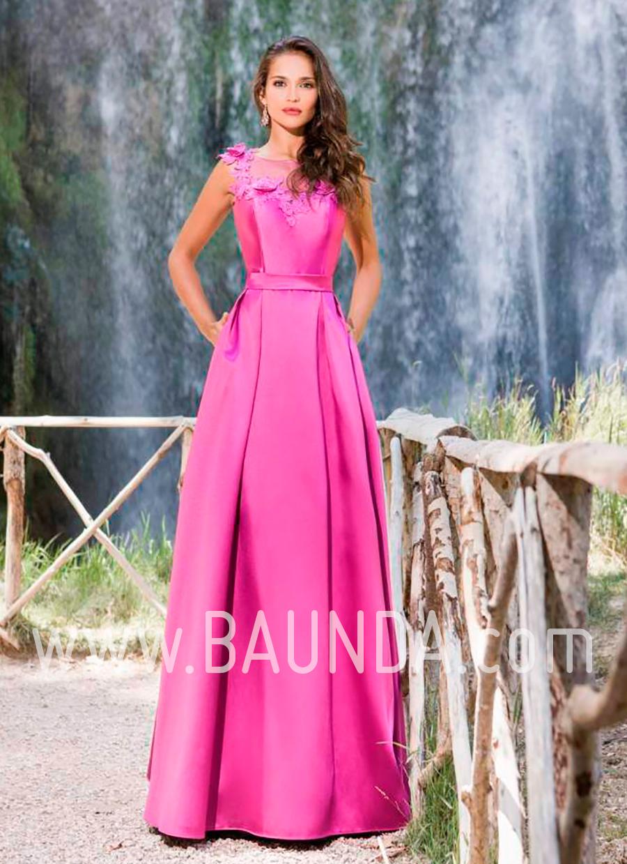 Bonito Vestido Morado Parte Viñeta - Colección de Vestidos de Boda ...