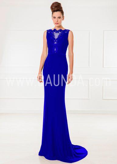 Vestido de fiesta azulón 2018 XM 9860