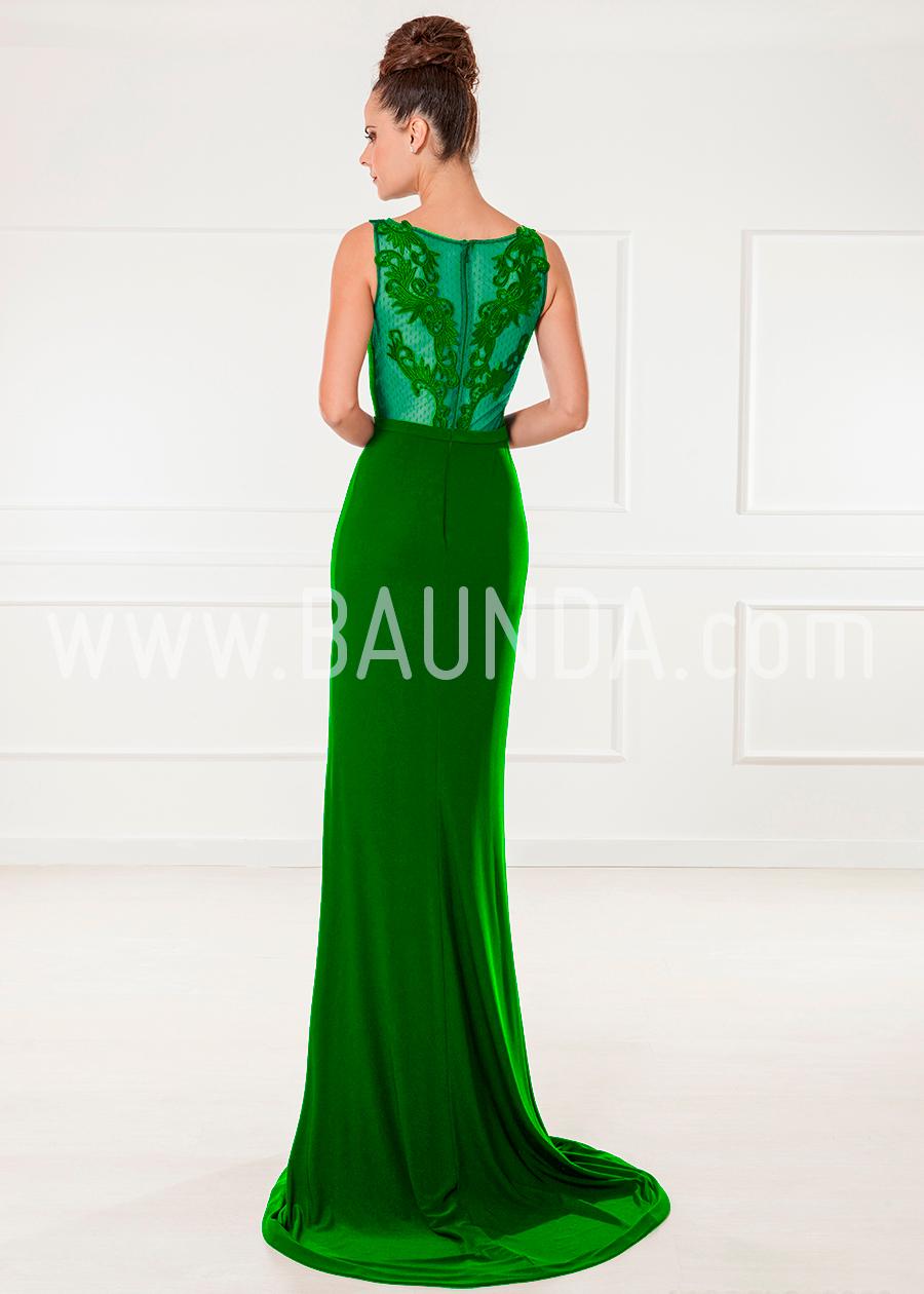 48bf1bde5 Bonito Vestidos De Fiesta Verde Molde - Ideas de Estilos ... Baunda ...
