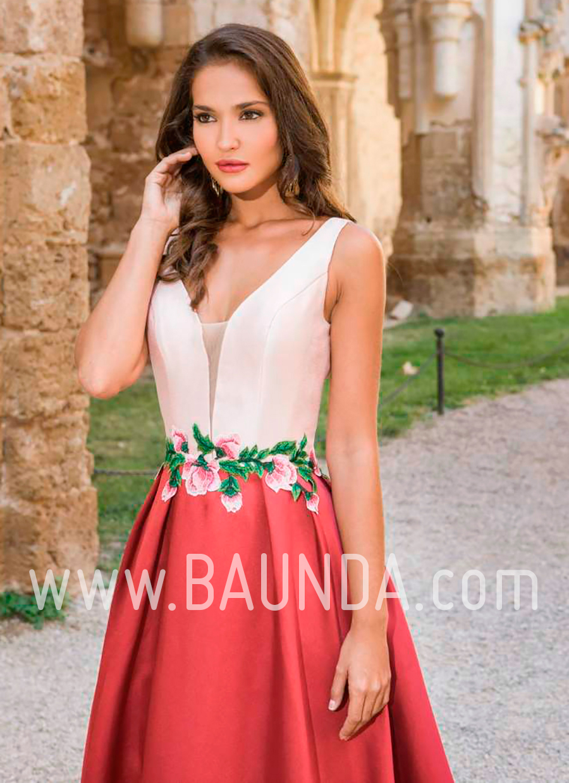 ba608f68f Vestido largo nude - Vestidos verano