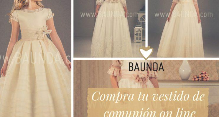vestidos comunión comprar on line
